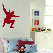 Stealth Ninja Boys Bedroom Wall Stickers Home Decor Boys Room Art Decals-LaoGraphics