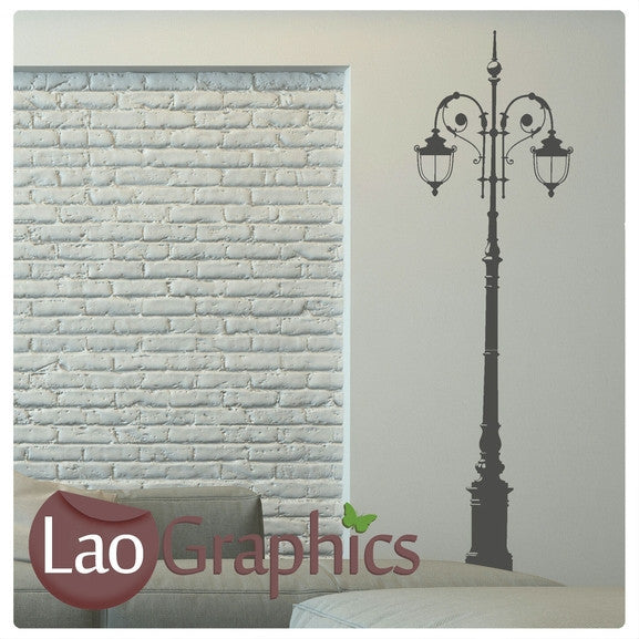 Street Lamp #2 Lamp Wall Stickers Home Decor Lamp Art Decals-LaoGraphics