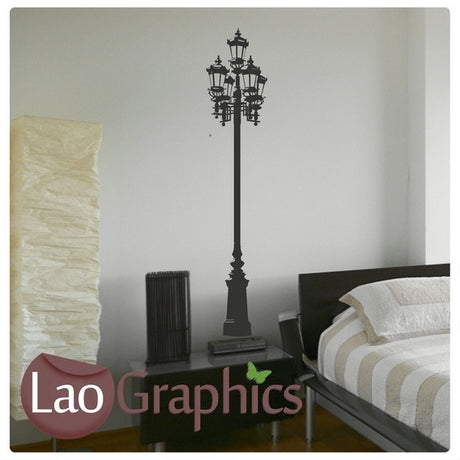 Street Lamp Lamp Wall Stickers Home Decor Lamp Art Decals-LaoGraphics