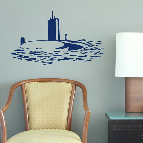 Submarine Boys Bedroom Wall Stickers Home Decor Boys Room Art Decals-LaoGraphics