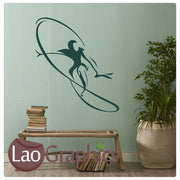 Surfer Surfing Extreme Sports Wall Stickers Home Decor Art Decals-LaoGraphics