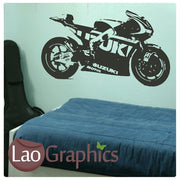 Suzuki Superbike Vehicle & Transport Wall Stickers Home Decor Art Decals-LaoGraphics