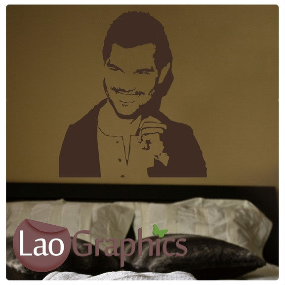 Taylor Lautner Wall Stickers Home Decor Art Decals-LaoGraphics