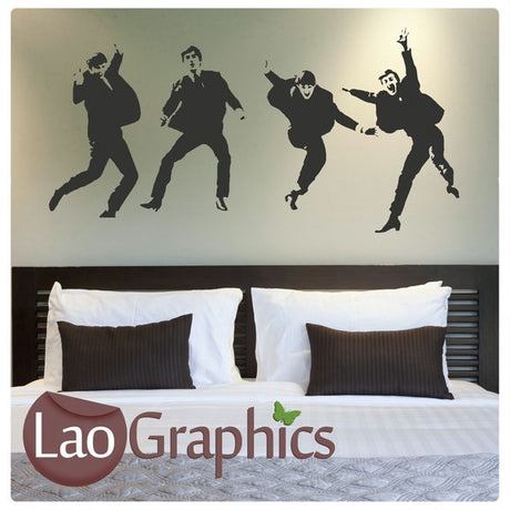 The Beatles Wall Stickers Home Decor Art Decals-LaoGraphics