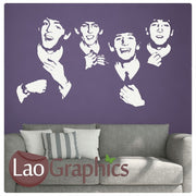 The Beatles Wall Stickers (negative) Home Decor Art Decals-LaoGraphics