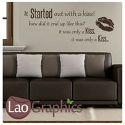 The Killers - Mr Brightside Wall Sticker Home Decor Art Decals-LaoGraphics