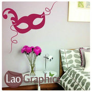 Theatre Mask Vinyl Transfer Wall Stickers Home Decor Art Decals-LaoGraphics