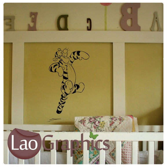 Tigger Wall Stickers (Winnie the Pooh) Home Decor Art Decals ...