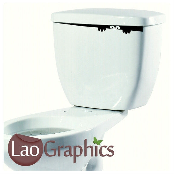 Toilet Monster #2 Art Sticker Home Decor Art Decals-LaoGraphics