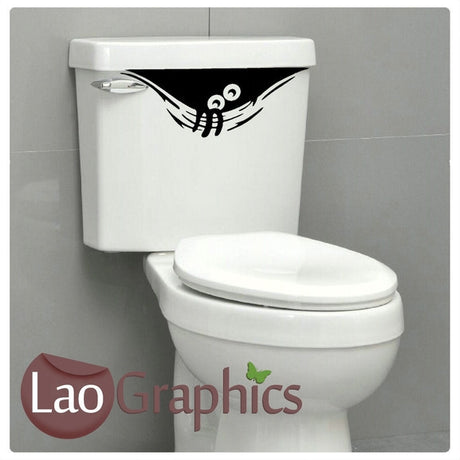 Toilet Monster Art Sticker Home Decor Art Decals-LaoGraphics