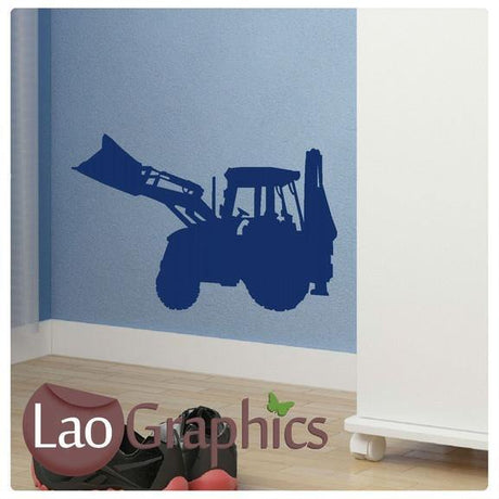 Tractor Wall Sticker Boys Bedroom Wall Stickers Home Decor Boys Room Art Decals-LaoGraphics