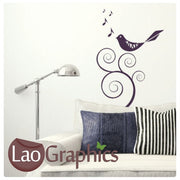 Tweety Bird Musical Wall Stickers Home Decor Music Art Decals-LaoGraphics