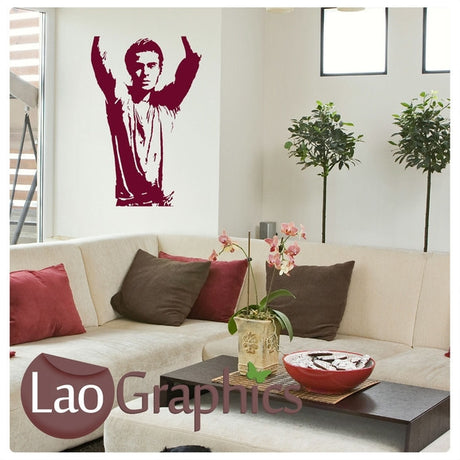 Zack Efron Wall Stickers Home Decor Art Decals-LaoGraphics