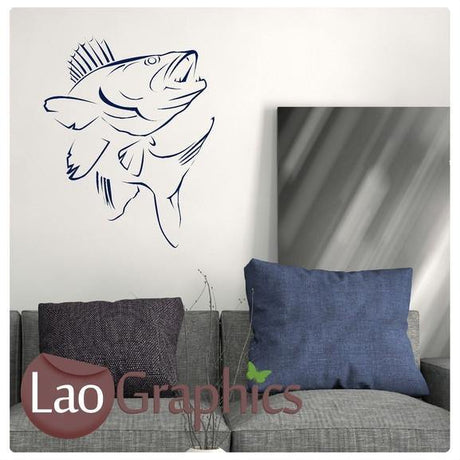 Zander Boys Aquatic Wall Stickers Home Decor Art Decals-LaoGraphics