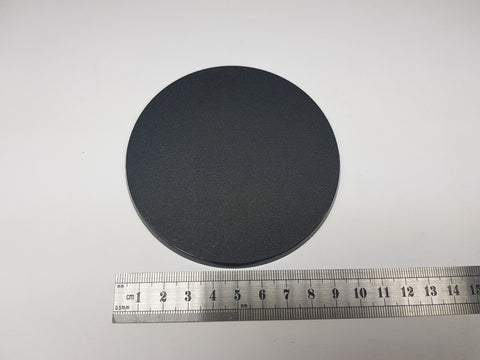 100mm Round Shaped Base x1 Plastic