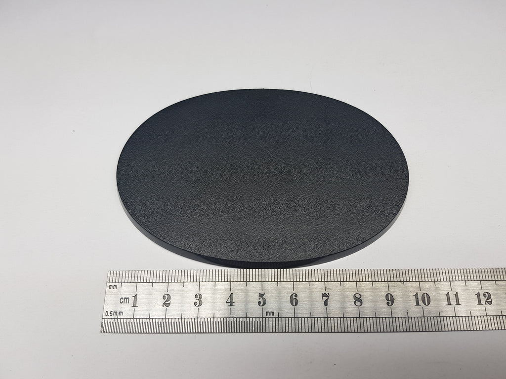 105x70mm Medium Oval Base Plastic