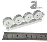 Wheels - 23mm Road Wheel X 4 Sprue