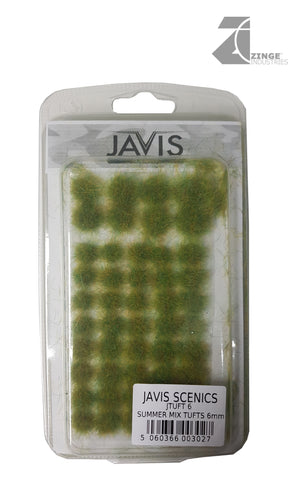 Javis Scenics; Summer Green tufts 6mm