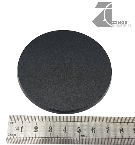 80mm Round Medium Base Plastic