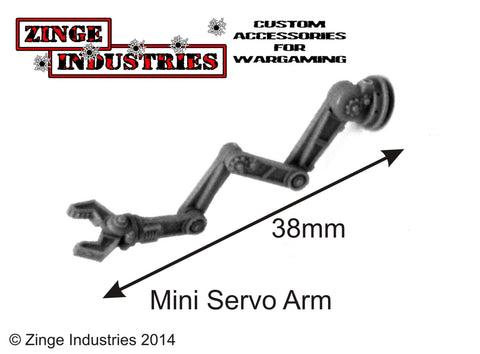 Robotic Servo Arm - Mini Set Sprue