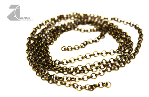 Metal Chain: 1 Metre Length With 2.5mm By 3.6mm Links
