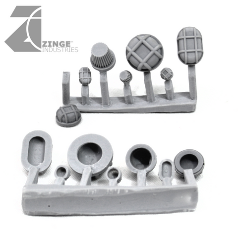 Bulkhead Lights - Sprue of 7 - Various