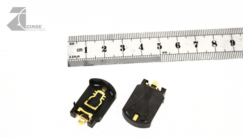 Battery Holder Large 25mm CR2032 Low Profile