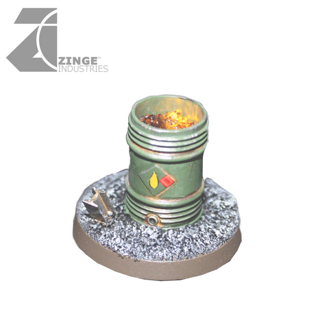 LED Fire Pit Barrel (Objective Marker)