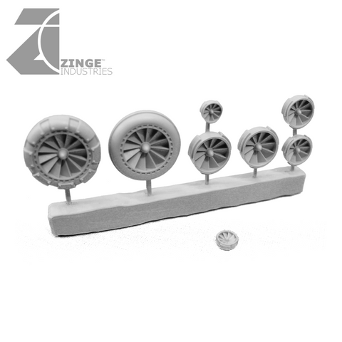 Fans - Sprue of 8 - Various