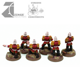 Colonial Empire Artillery Crew - 6 Man