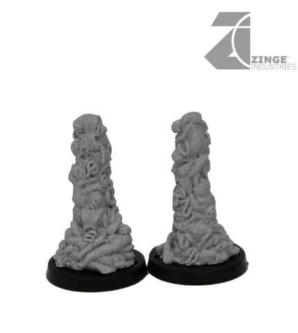 AutoKill or Gaslands Race Posts - Corpse Pile Gates x2 - 20mm Scale