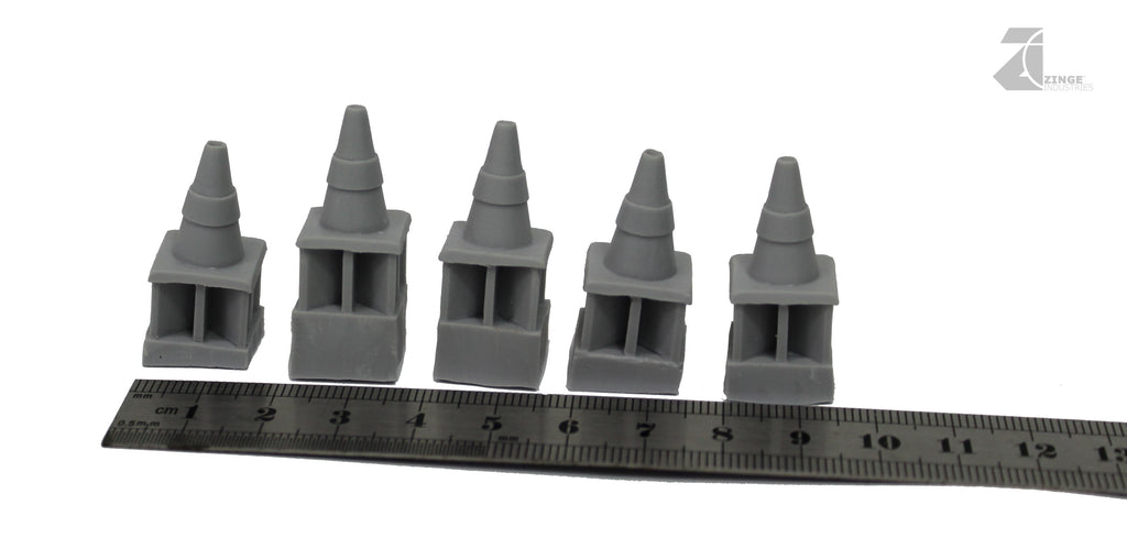 Set of 5 - Traffic Cones