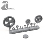 Cogs - Sprue of 9 - Various
