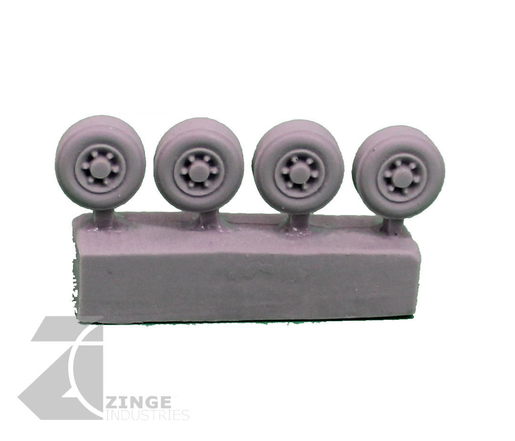 AutoKill - Drone Wheels - 20mm Scale - Set of 4