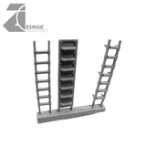 Ladders - Sprue of 3 - Various