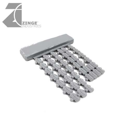 Modular Tank Track Links Set - 40 Track Links Sprue