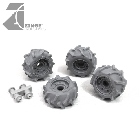 Wheels - 19mm Off Road Wheel X 4 Sprue