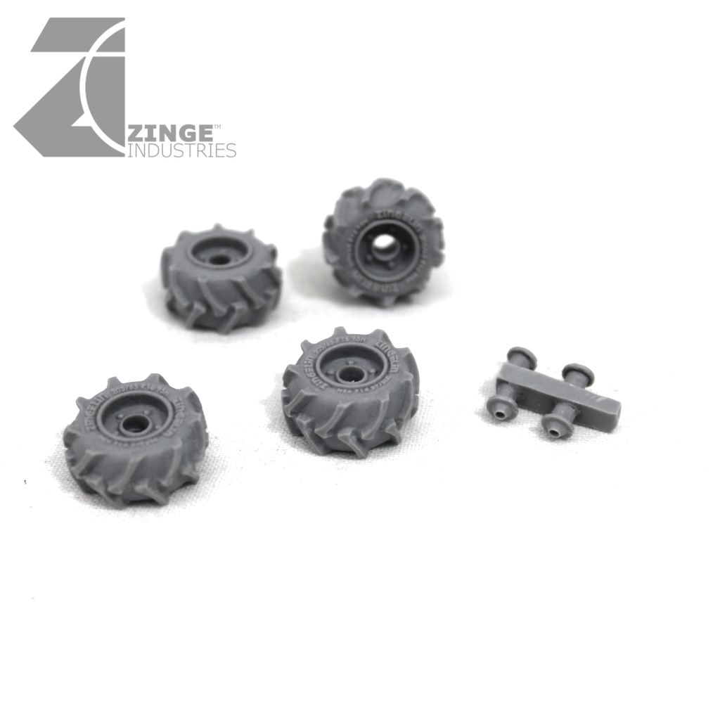 Wheels - 23mm Off Road Wheel X 4 Sprue