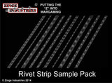 Flexible Rivet Strips - 10 - Various