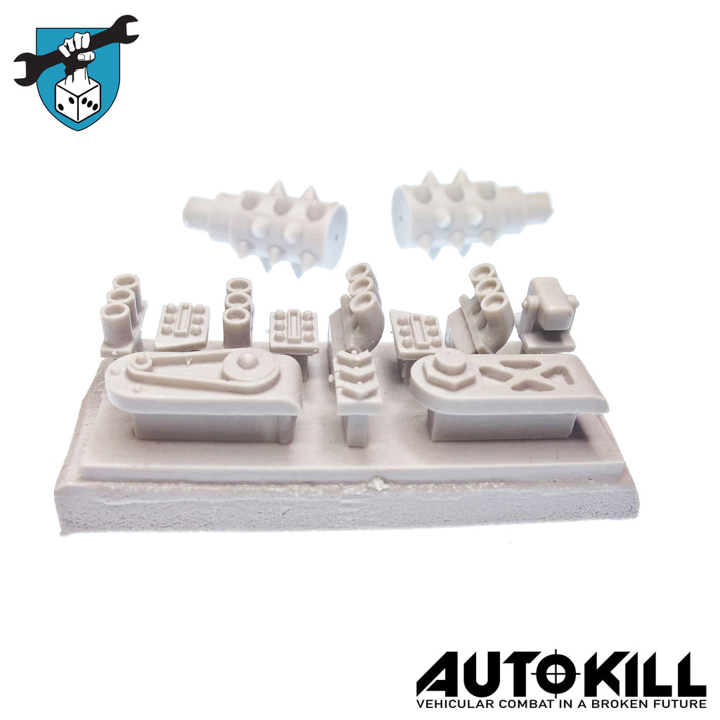 AutoKill - Crush Hour Sprue - 20mm Scale