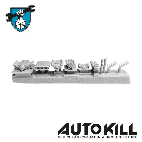 AutoKill - Engines - (Range of Engines & Bits) - 20mm Scale