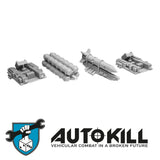 AutoKill - Arms Race Sprue - (Rocket, Mini ICBM, Launcher) - 20mm Scale