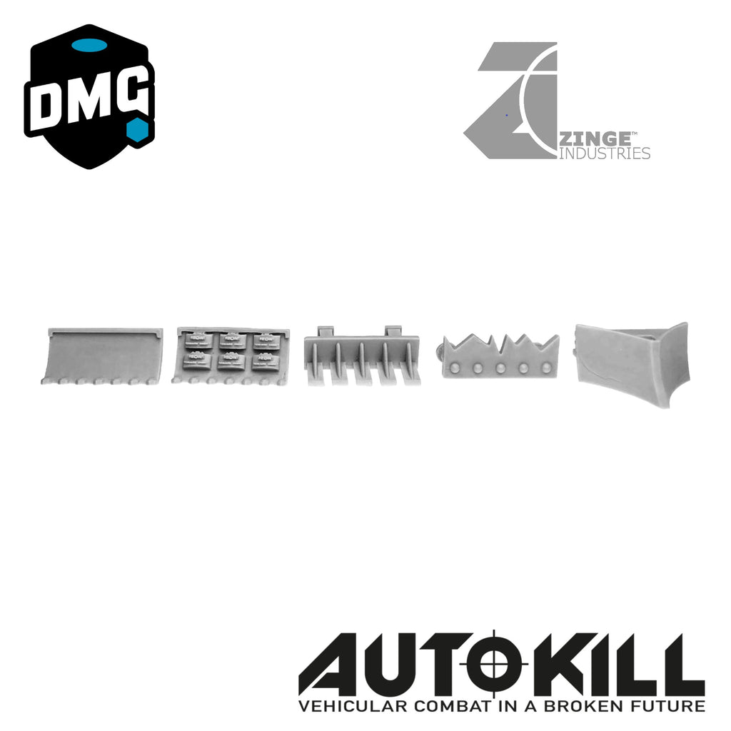AutoKill or Gaslands Rams - Redsteel - 20mm Scale