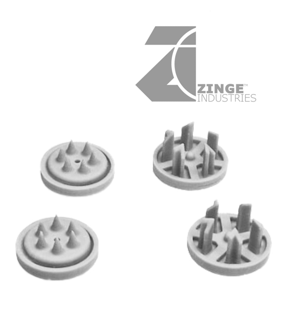 AutoKill - Grinder Hub Caps - 20mm Scale