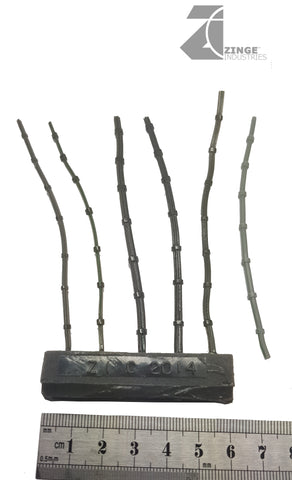 Power Cables - Bundled Cables - Sprue of 6