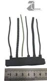 Flexible Power Cables - Various - Sprue of 6