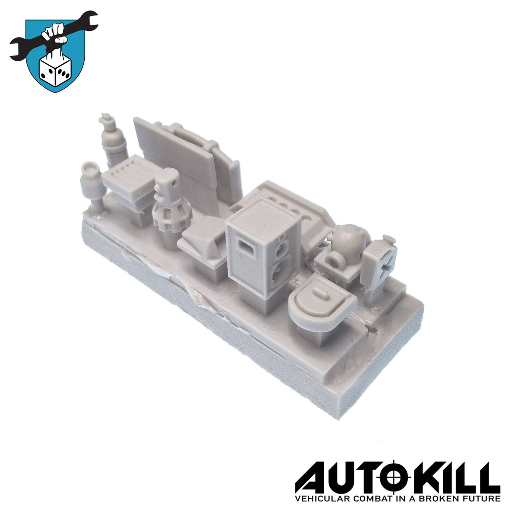 AutoKill - Wasteland Weekend Sprue - 20mm Scale