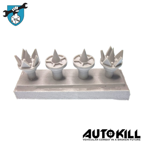 AutoKill - Wheel Spikes - 20mm Scale