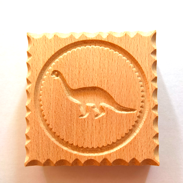 Wooden Biscuit Stamp - Each