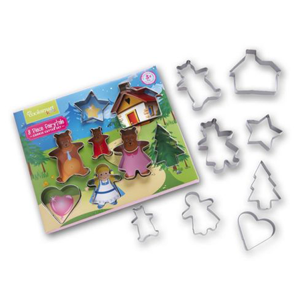 8 Piece Fairytale Cookie Cutter Set